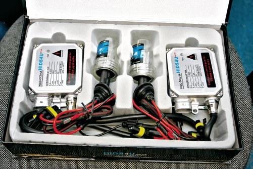 Nie wolno mocować ksenonów w reflektorach halogenowych. /Motor