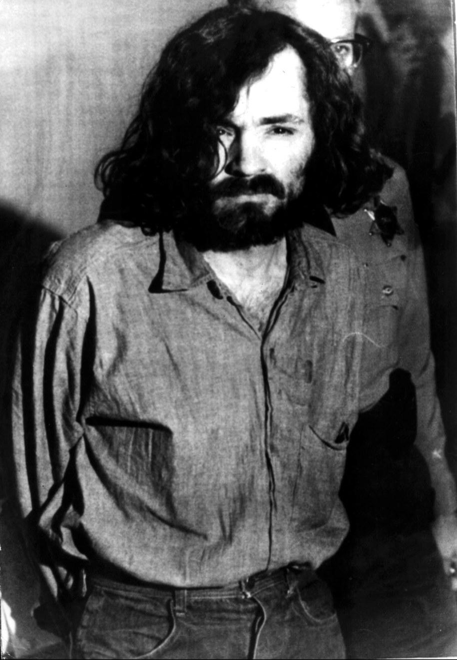 Nie żyje Charles Manson (tutaj na zdjęciu z 20 sierpnia 1970 roku) /UPPA/Photoshot    /PAP