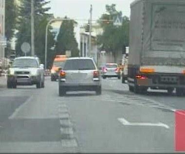 Niebezpieczny pościg za pijanym kierowcą