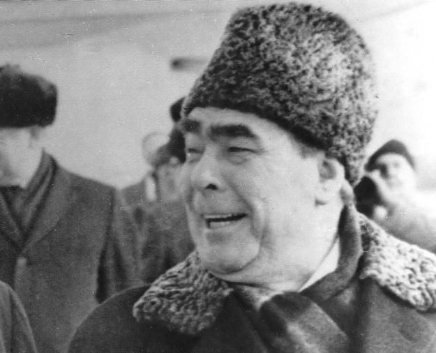 """""""Niech żyje KPZR i jej przywódca towarzysz Leonid Breżniew"""" /AFP"""
