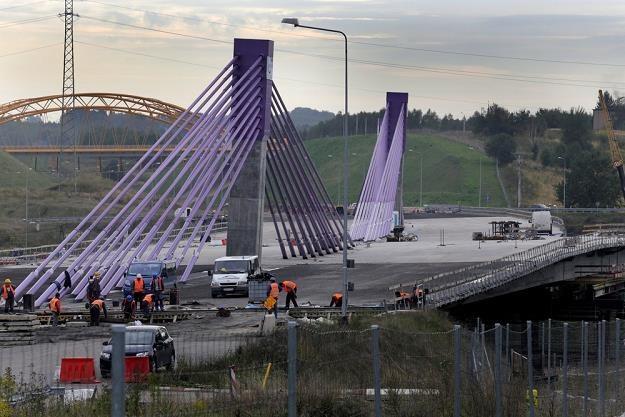 Niedokończony most na A1 / Fot: Dominik Gajda /Reporter