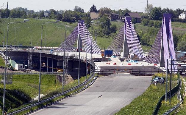 Niedokończony most na A1 /PAP