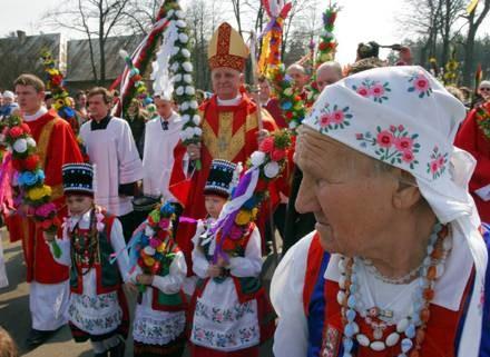 Niedziela Palmowa w Łysych /arch. AFP