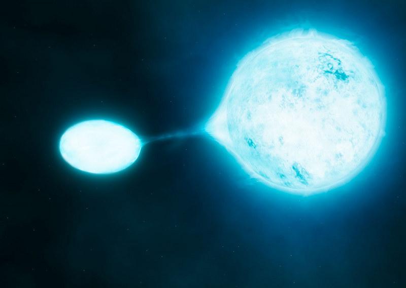 Niektóre gwiazdy wykazują objawy metabolizmu. Czy to oznacza, że są one żywe? (Fot. ESO) /materiały prasowe
