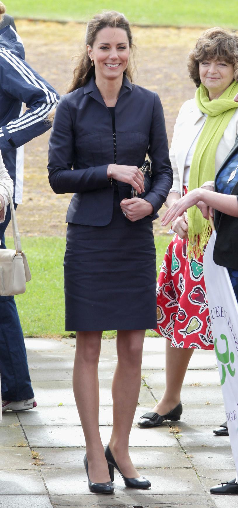 Niektórzy obawiają się, że Kate schudła za bardzo  /Getty Images/Flash Press Media