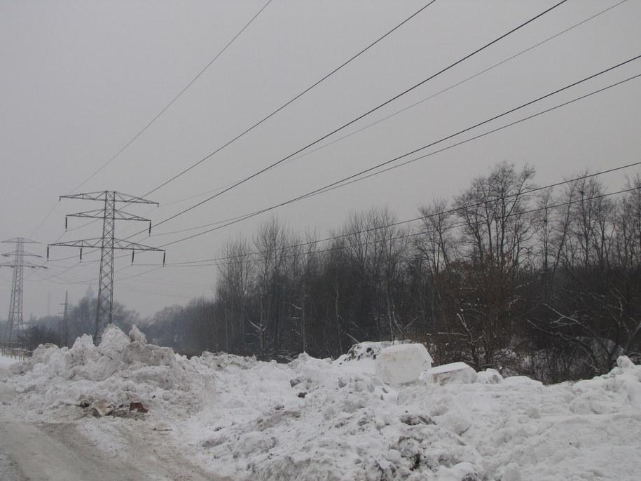 Nielegalne wysypisko śniegu w Poznaniu  /Piotr Świątkowski /RMF FM