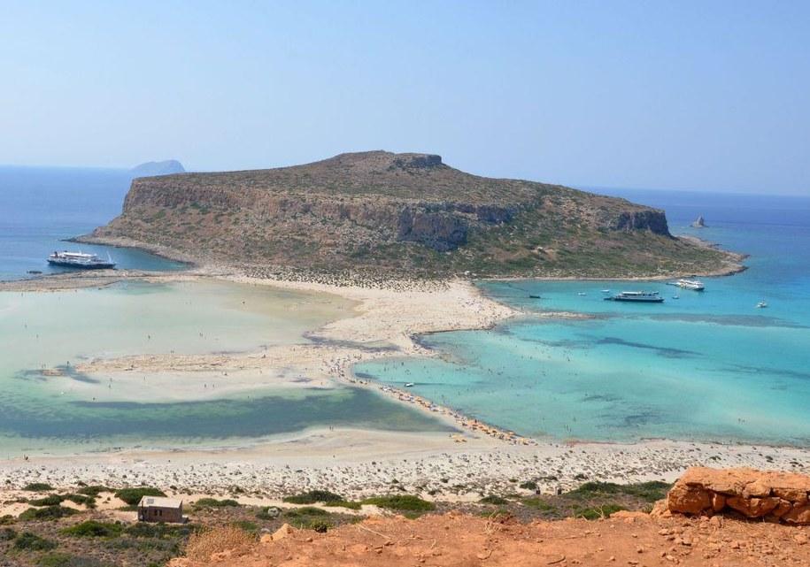 Niemal co trzeci wybierający się na wakacje za granicę wybiera Grecję. Na zdj. Laguna Balos /Malwina Zaborowska /Archiwum RMF FM
