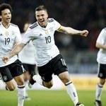 Niemcy - Anglia 1-0 w meczu towarzyskim. Piękny gol Podolskiego