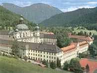 Niemcy, Ettal, opactwo benedyktynów /Encyklopedia Internautica