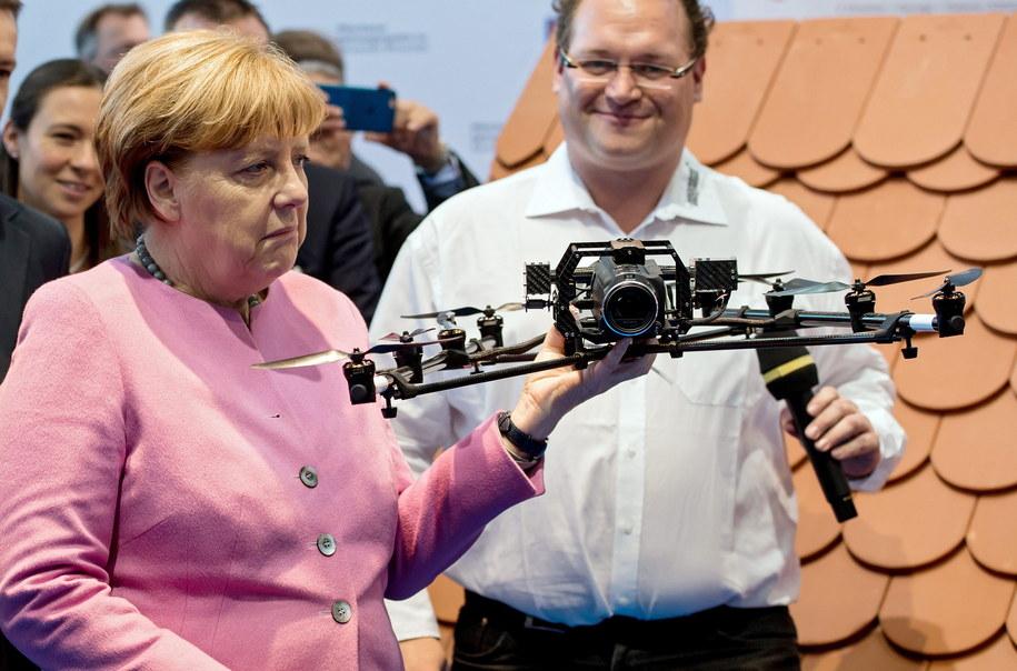 Niemiecka kanclerz Angela Merkel /SVEN HOPPE /PAP/EPA
