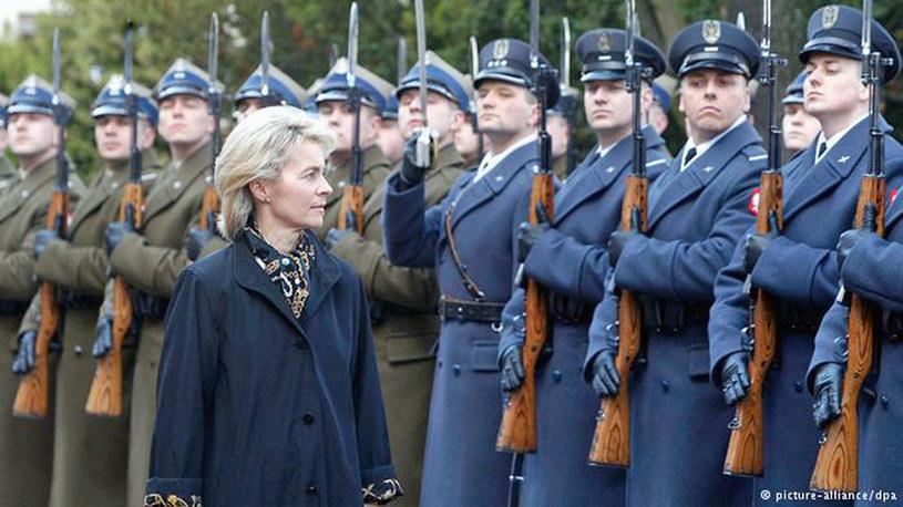 Niemiecka minister obrony von der Leyen podczas wizyty w Polsce /Deutsche Welle