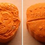 Niemiecka policja przejęła tysiące tabletek ecstasy z podobizną Trumpa