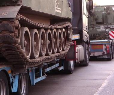 Niemiecka policja zatrzymała konwój amerykańskich czołgów z Polski. Były za ciężkie