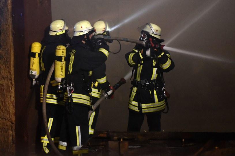 Niemiecka straż pożarna /AFP