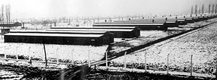 Auschwitz - baraki dla więźniów