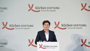 """Niemieckie media o spotkaniu Szydło-Merkel. """"Uprzejmość z rozsądku"""""""