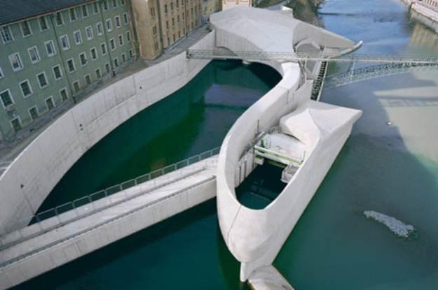 Niemieckie miasteczko Kemper ma chyba najładniejszą hydroelektrownię w Europie /gizmodo.pl