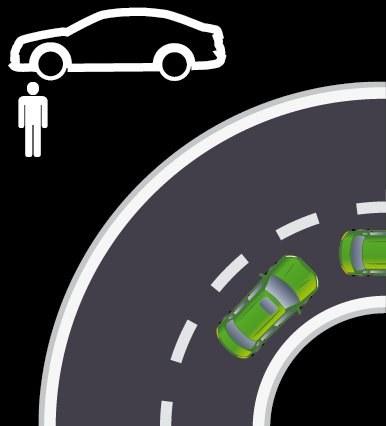 Nieobciążony samochód pozostaje neutralny także w końcowej fazie pokonywania zakrętu. /Motor