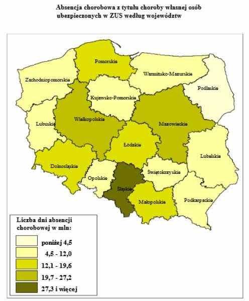 Nieobecności pracowników kosztowały pracodawców ponad 24 mld zł /&nbsp
