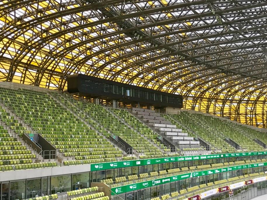 Nieodkryte zakamarki Stadionu Energa Gdańsk to dziś Twoje Niesamowite Miejsce w Faktach RMF FM /Kuba Kaługa /RMF FM