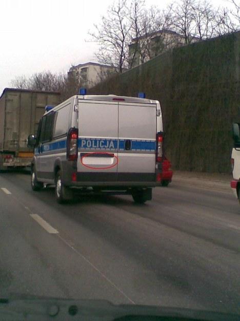 Nieoznakowany radiowóz:)