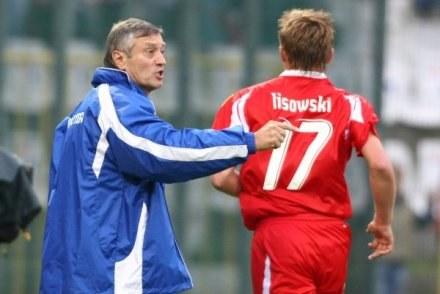 Niepewny jest występ Tomasza Lisowskiego przeciwko drużynie Duszana Radolsky'ego/fot.Łukasz Grochała /Agencja Przegląd Sportowy