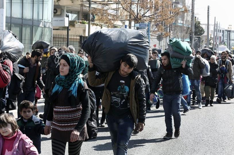 """""""Niepokojący jest przekazywany przez media obraz uchodźców"""" /PAP/EPA"""