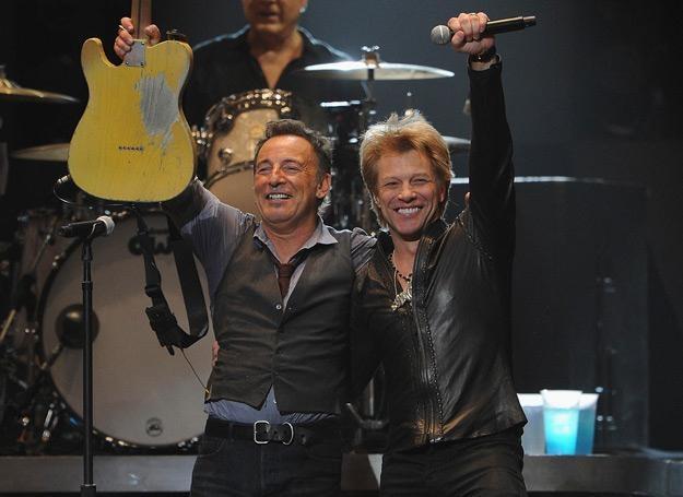 Niepokonani Nowojorczycy: Bruce Springsteen i Jon Bon Jovi - fot. Larry Busacca) /Getty Images/Flash Press Media