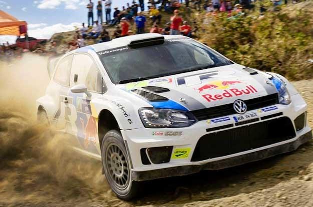 Niesamowicie szybkie polo WRC. Za kierownicą Sebastien Ogier /
