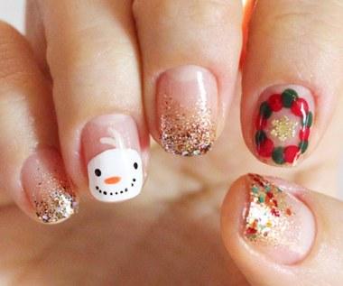 Niesamowite pomysły na świąteczny manicure