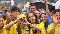 Niesamowite powitanie papieża Franciszka na krakowskich Błoniach