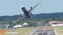 Niesamowity manewr pilota Dreamlinera