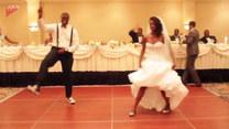 Niesamowity taniec weselny. Ale show skradł im ktoś inny