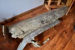 Nieśmiertelnik i in. Zobacz znaleziska z radzieckiego samolotu w Bzurze