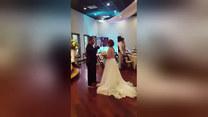 Niespodzianka na weselu. Skradli show nowożeńcom
