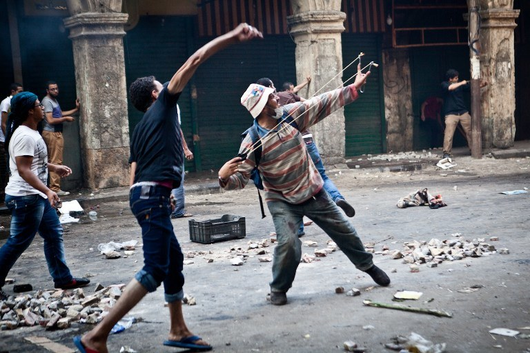Niespokojnie w Egipcie /AFP
