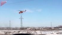 Nietypowa misja pilota helikoptera