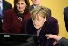 Nietypowe wydarzenie z udziałem kanclerz Merkel
