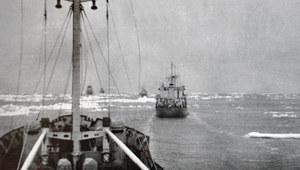 Nieudana polska wyprawa przez Ocean Arktyczny. Jedyny handlowy rejs Północną Drogą Morską