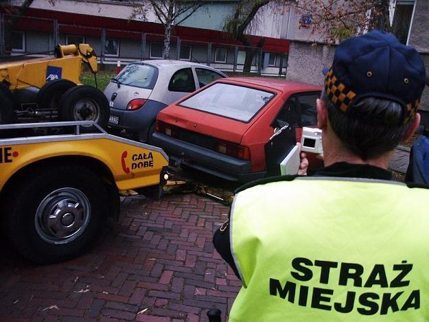 Nieużywane auto można odholować / Fot: Karol Jackowski /Reporter