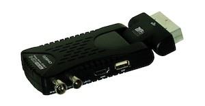 Niewidoczny dekoder DVB-T