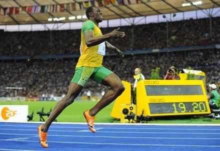 """""""Niewiele mi już brakuje, by zostać legendą sprintu"""" - uważa Jamajczyk Usain Bolt /AFP"""