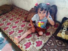 Niewinna ofiara krwawej wojny. Pomoc dla trzyletniej Maysy