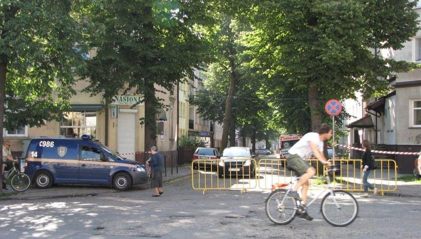 Niewybuch w centrum Gdańska