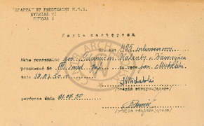 """Nieznane dokumenty dotyczące gen. Fieldorfa """"Nila"""""""