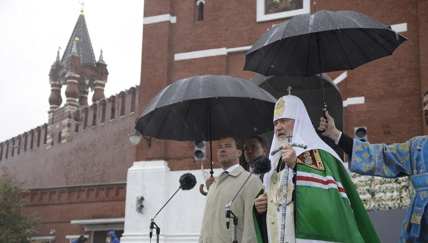 Niezwykła uroczystość religijna na Kremlu