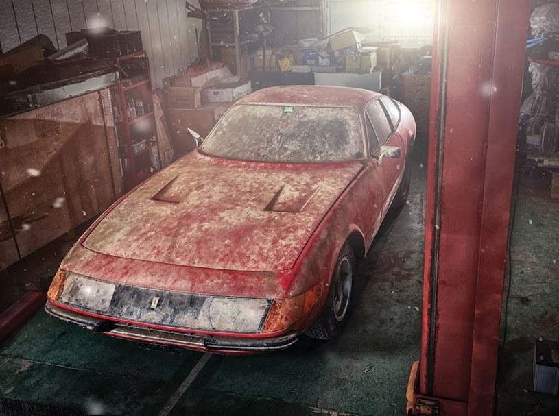 Niezwykłe Ferrari Daytona znaleziono w japońskiej szopie /