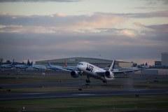 Niezwykłe zdjęcia ze startu Dreamlinera