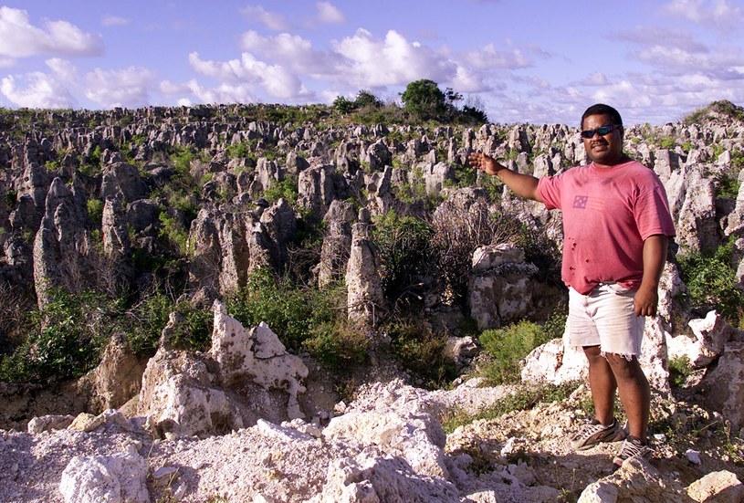 Niezwykły krajobraz Nauru /AFP