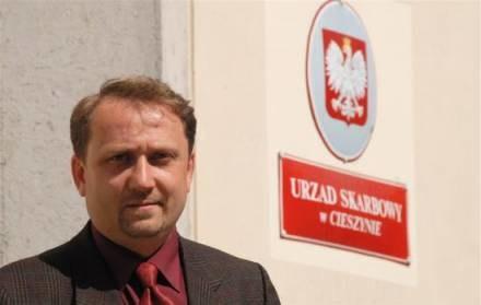 Nigdy nie załatwiamy niczego telefonicznie ? zapewnia Piotr Volkmer z Urzędu Skarbowego /Gazeta Codzienna